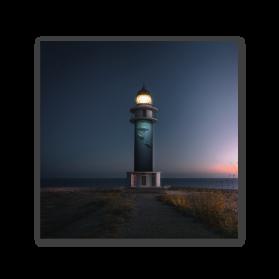 Blue Lighthouse