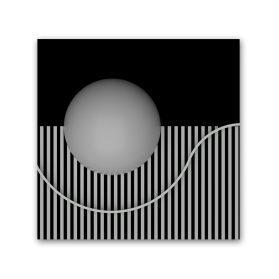 ball and lines